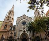 Neo-Gothic Basilica San Vicente in Valencia