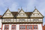 Historisches Rathaus in der Altstadt von Blomberg, Nordrhein-Westfalen
