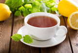 cup of tea with mint - 199785537