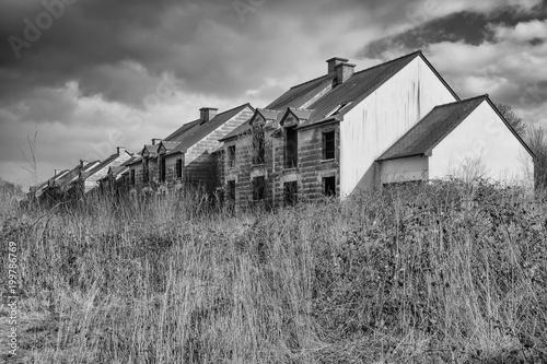 Foto Murales abandoned house