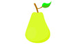 Illustration of pear icon - 199792153