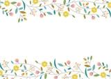 花のフレーム01 - 199803532