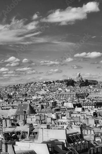 Fotobehang Parijs Montmartre