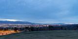 Salt Lake City Utah evening skyline - 199826576