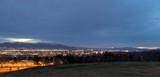 Salt Lake City Utah evening skyline - 199826578