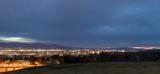 Salt Lake City Utah evening skyline - 199826586
