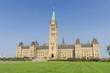 Parliament Hill in Ottawa (Canada)