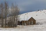 Abandoned Winter Cabin - 199836571