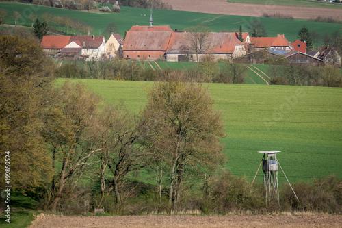 Fotobehang Pistache Stadt Maulbronn