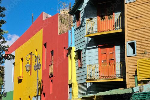 Fotobehang Buenos Aires Caminito, La Boca