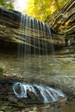 Big Clifty Falls in Madison, Indiana