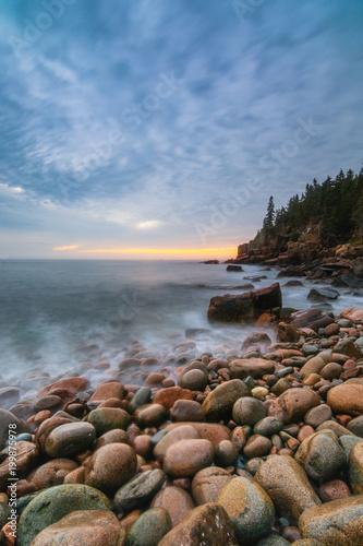 Foto op Plexiglas Natuur Acadia Shore Rise