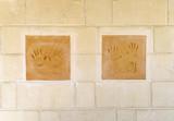 Impronte sul muro - 199878726