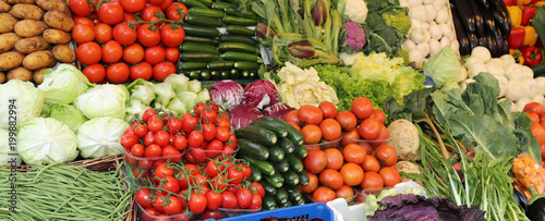 many cabbages zucchini and more fresh vegetables and fruits at m