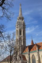 Matthiaskirche im Burgviertel von Budapest, Ungarn