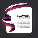 Slovakia flag background