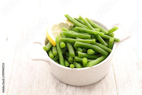 Foto Murales green bean salad