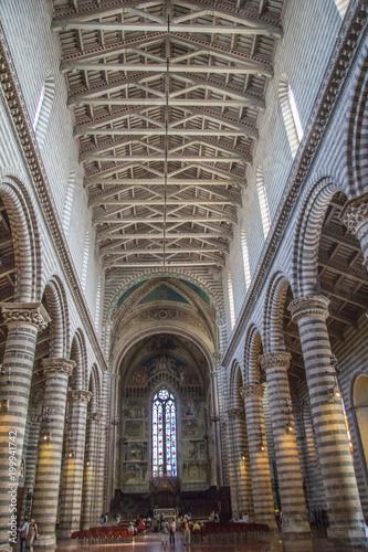 Orvieto Cathedral interior