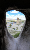 Cappadocia: Amazing natural volcanic rock formations carved by ancient civilizations in Monk's Valley - Turkey