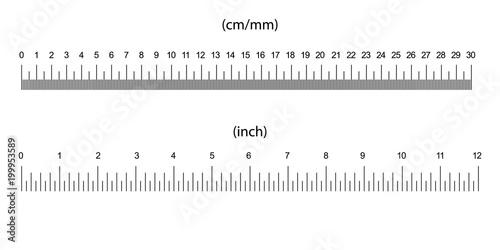 ruler size indicators