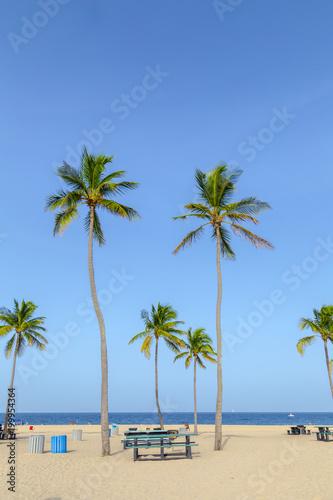Foto Murales beautiful Fort Lauderdale beach