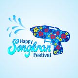 Vector illustration for songkran festival
