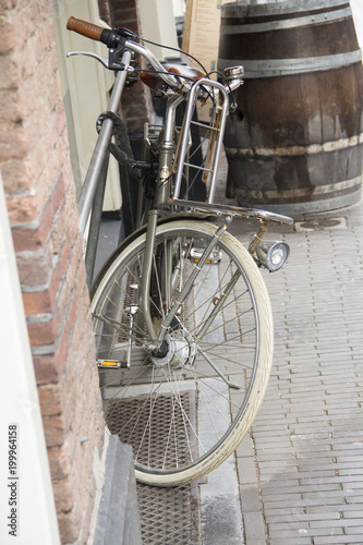 Foto op Plexiglas Fiets Dutch old biycle