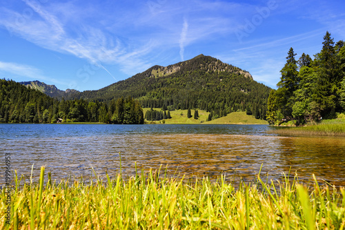 Foto op Aluminium Bergen Majestic Lakes - Spitzingsee
