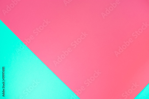 Pastel color paper geometric background - 199976181