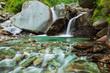Bhagsu waterfall. Bhagsu, Himachal Pradesh, India - 199988578