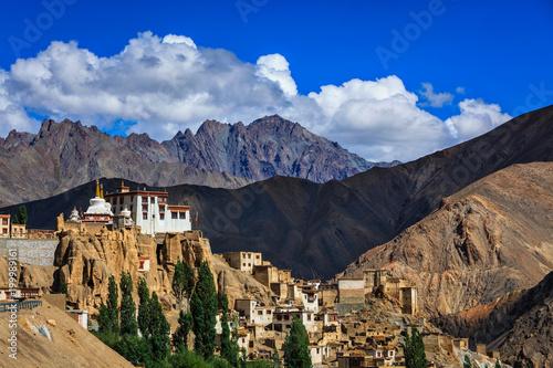 Foto Murales Lamayuru Gompa (Tibetan Buddhist monastery), Ladakh
