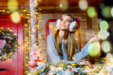 girl in earmuffs - 199991156