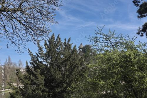 Foto Murales Parc des Buttes Chaumont, Paris