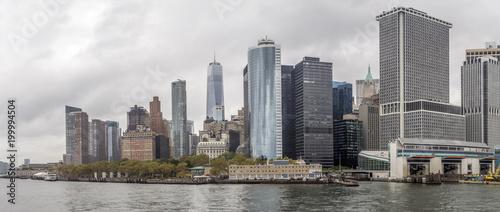 Lower Manhattan in New York City - 199994504
