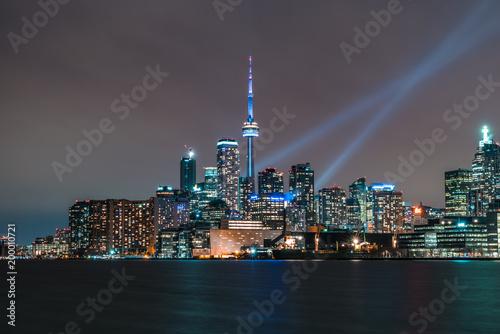 Fotobehang Toronto Toronto at night, cityscape