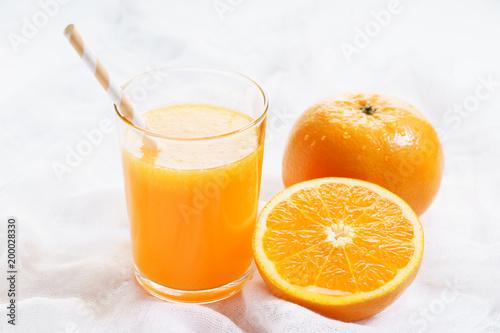 Fotobehang Sap orange juice