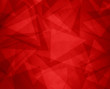 abstract red background with triangles and rectangle shapes layered in contemporary modern art design