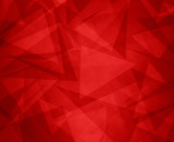 abstract red background with triangles and rectangle shapes layered in contemporary modern art design - 200029165