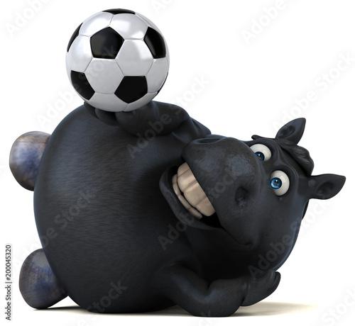 Zabawy koń - 3D ilustracja