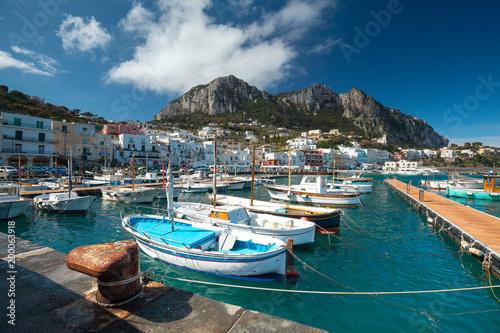 Dock view of Capri