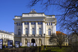 Warsaw, Poland - Warsaw University main campus in old town historic quarter - university library building BUW - 200066102