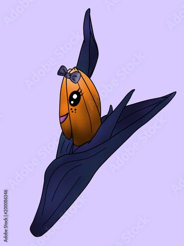 cute chibi tulip - 200086346