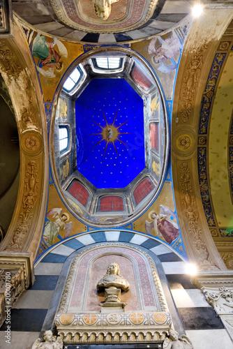 Fotobehang Liguria Santa Maria di Castello, Genoa Italy
