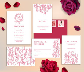 wedding stationery cards