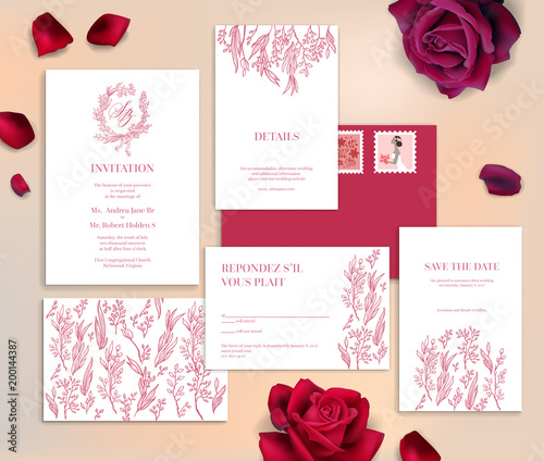 wedding stationery cards - 200144387