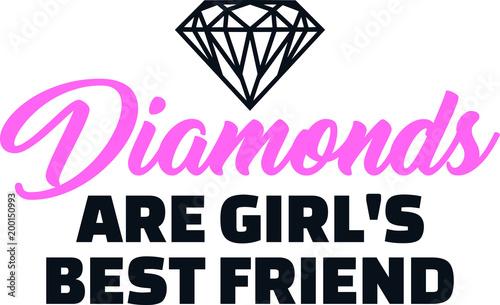 Diamenty to slogan najlepszych przyjaciółek dziewczyn