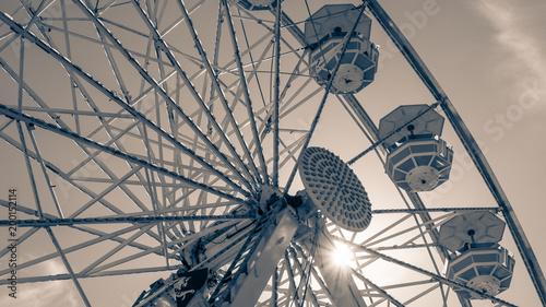 Keuken foto achterwand Amusementspark Ferris Wheel