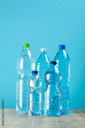Foto Murales Plastic water bottle
