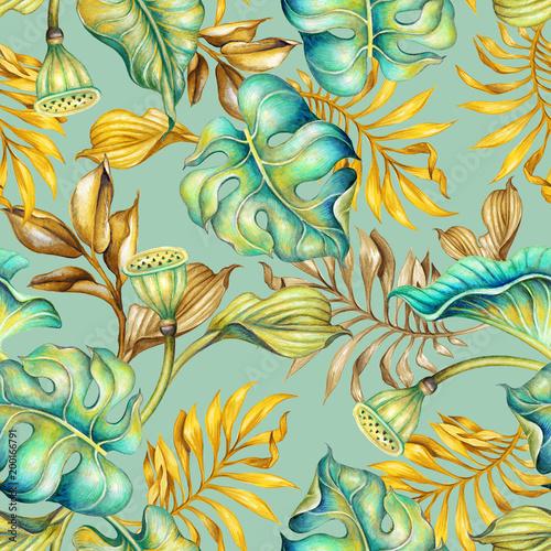 bezszwowe-tlo-tropikalne-wzor-botaniczny-palmy