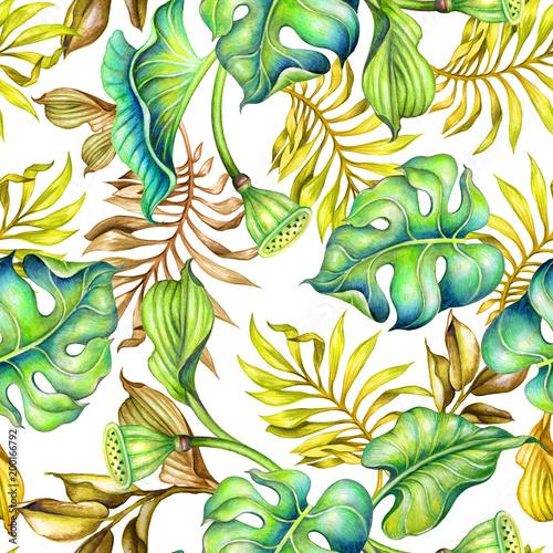 bezszwowe-tropikalny-wzor-tlo-botaniczny-swiezy